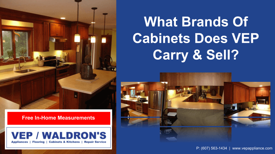 What Brands of Kitchen Cabinets Does VEP Carry?